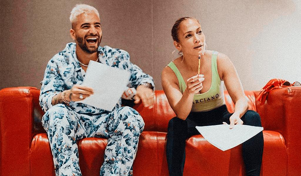 ¡Maluma y JLO anuncian colaboración musical!