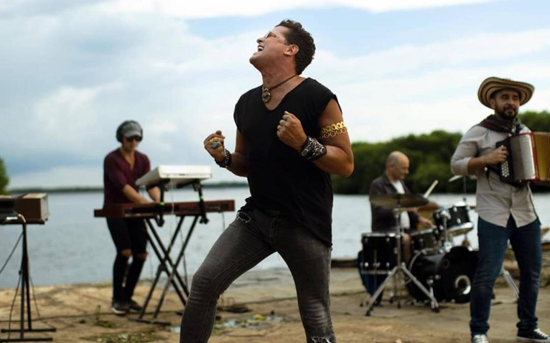 """CARLOS VIVES estrena """"CUMBIANA"""", la canción y el video desde el territorio…al aire ya!"""