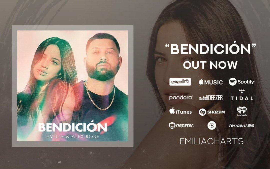 """EMILIA estrena """"Bendición"""" junto a ALEX ROSE"""